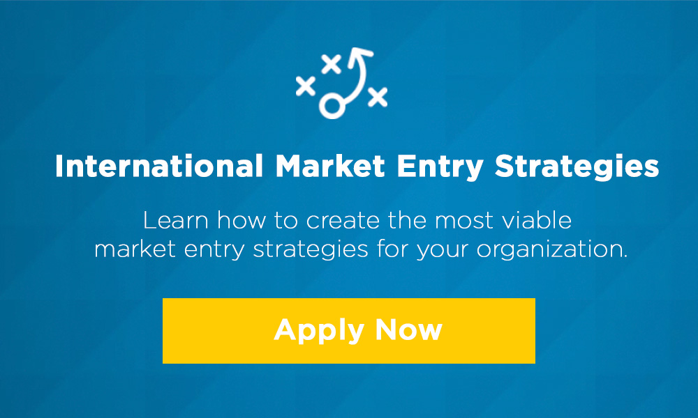 market entry strategic project